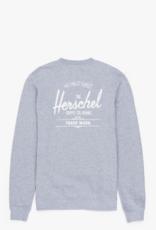 HERSCHEL SUPPLY CO. HERSCHEL OVERSIZED CREWNECK HEATHER GREY
