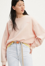 LEVI'S LEVI'S DIANA SWEAT PINK PEACH WASH