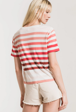 Z SUPPLY Z SUPPLY RED RAINBOW TEE