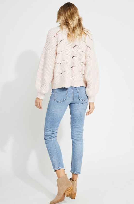 GENTLE FAWN GENTLE FAWN SERENITY SWEATER PINK