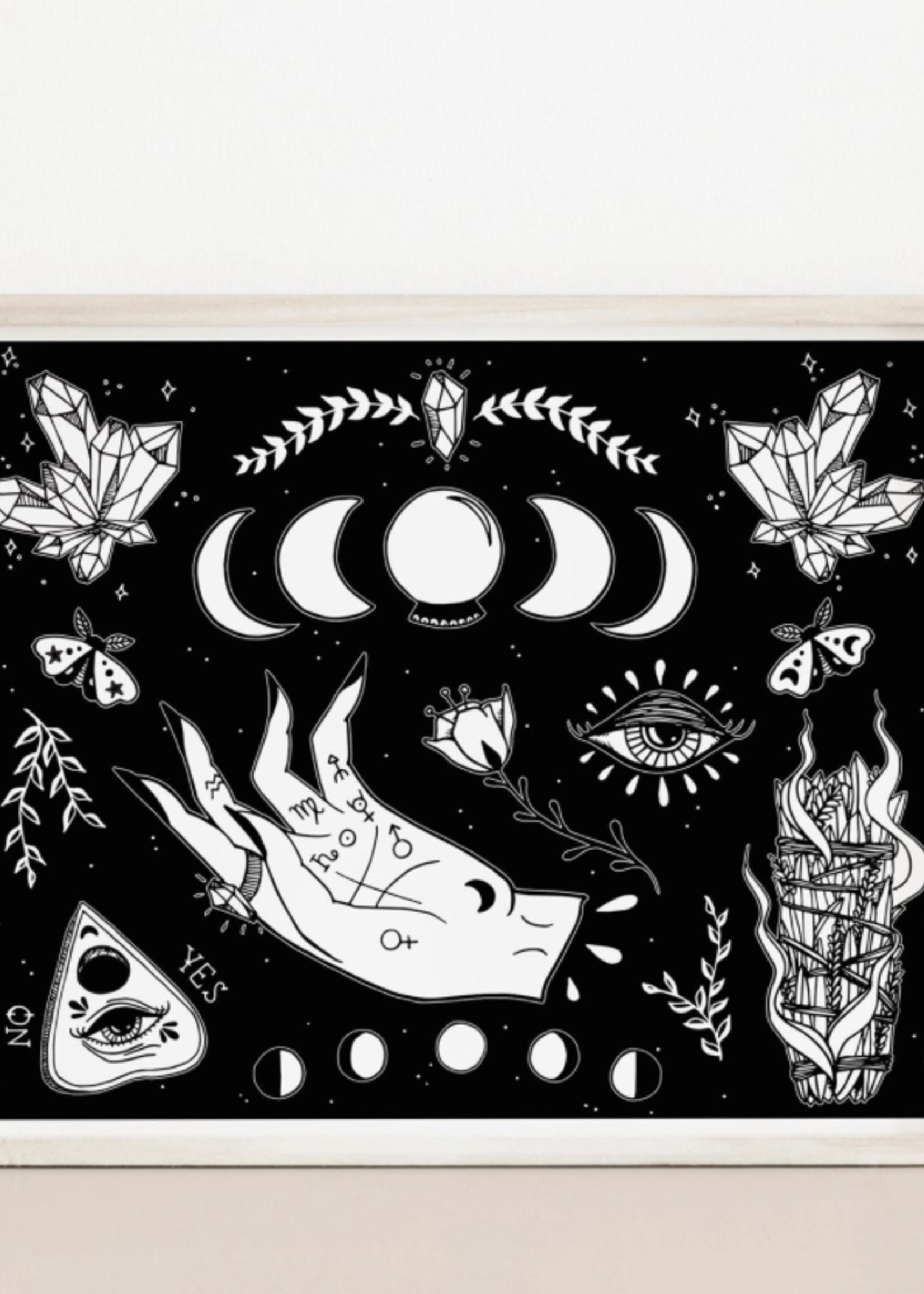 MELINA/KIMBERLEY BC MELINA WITCHY VIBES ART PRINT