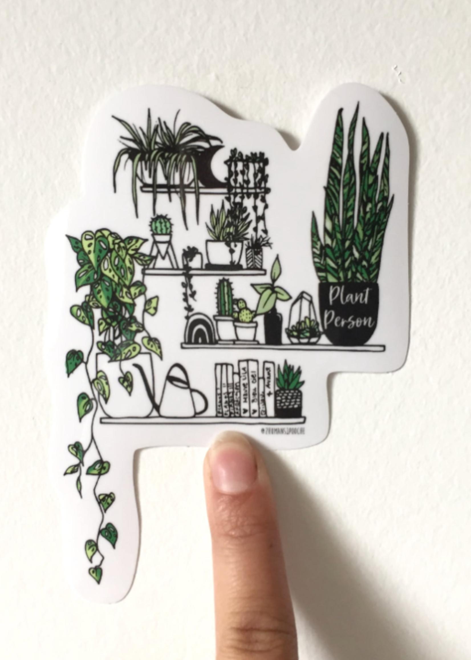 MELINA/KIMBERLEY BC MELINA PLANT PERSON STICKER