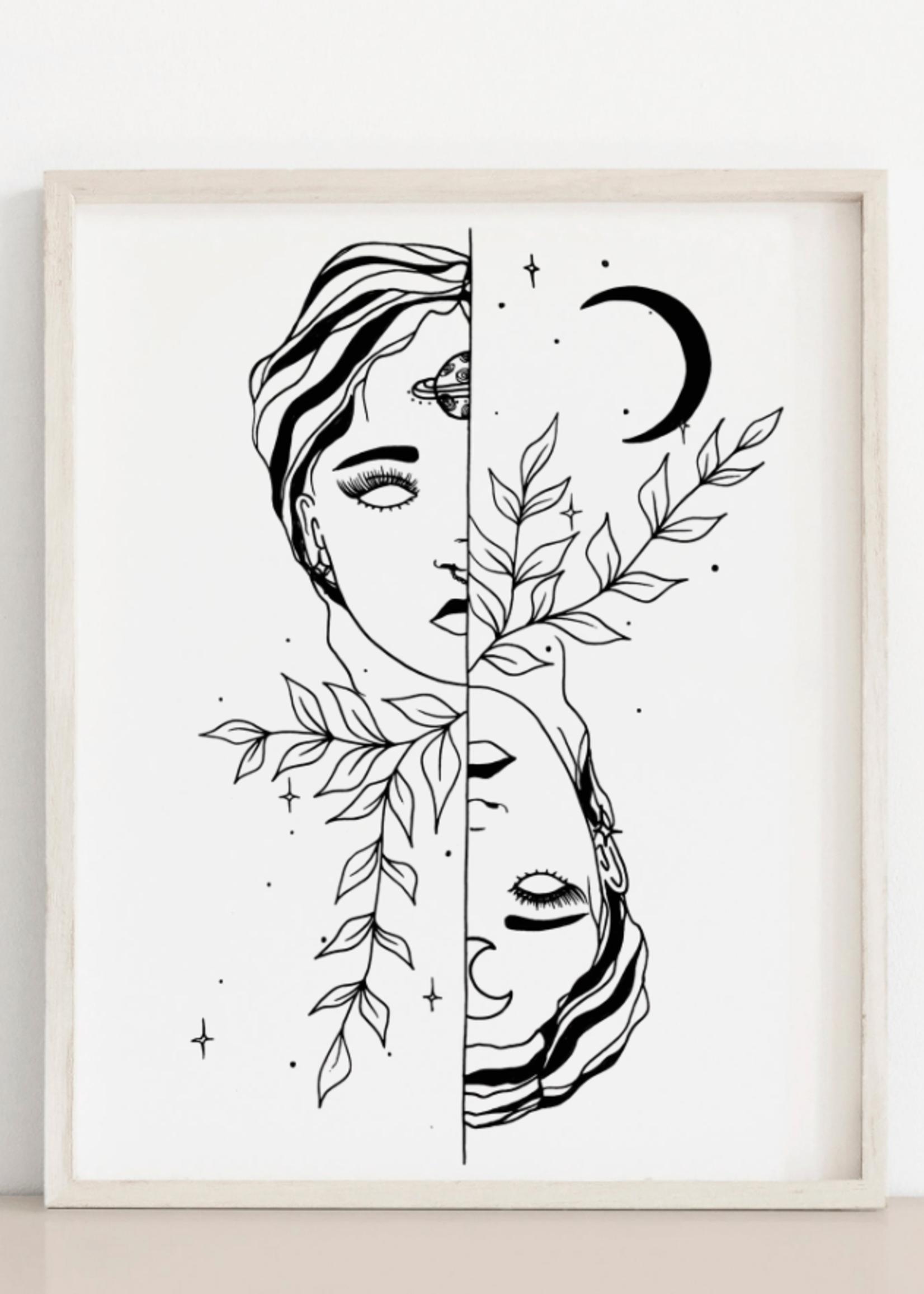 MELINA/KIMBERLEY BC MELINA GEMINI ART PRINT