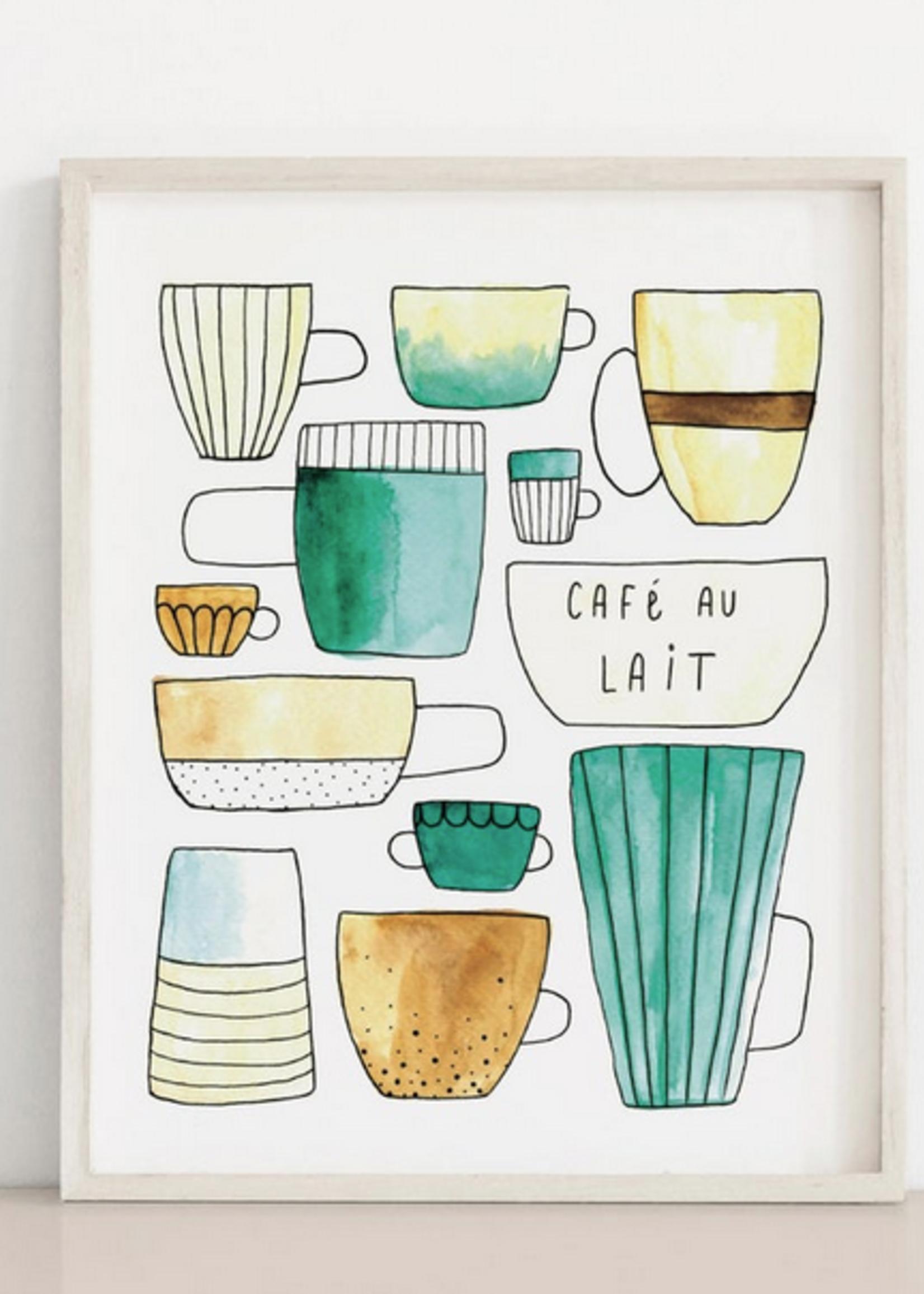 MELINA/KIMBERLEY BC MELINA ART PRINT CAFE AU LAIT