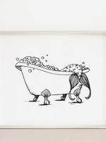 MELINA/KIMBERLEY BC MELINA ART PRINT MERMAID BATH
