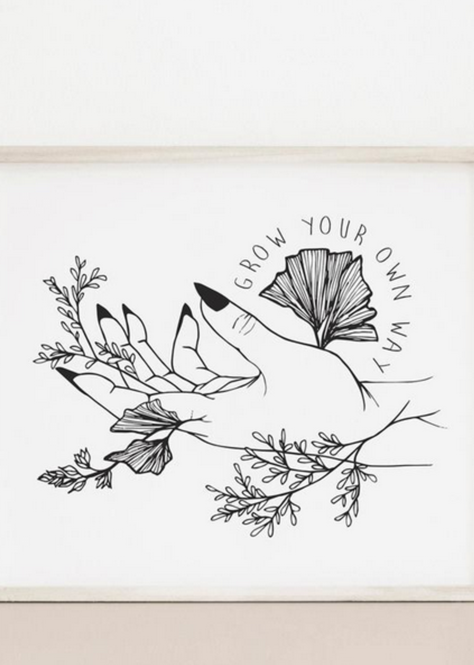 MELINA/KIMBERLEY BC MELINA ART PRINT GROW YOUR OWN WAY