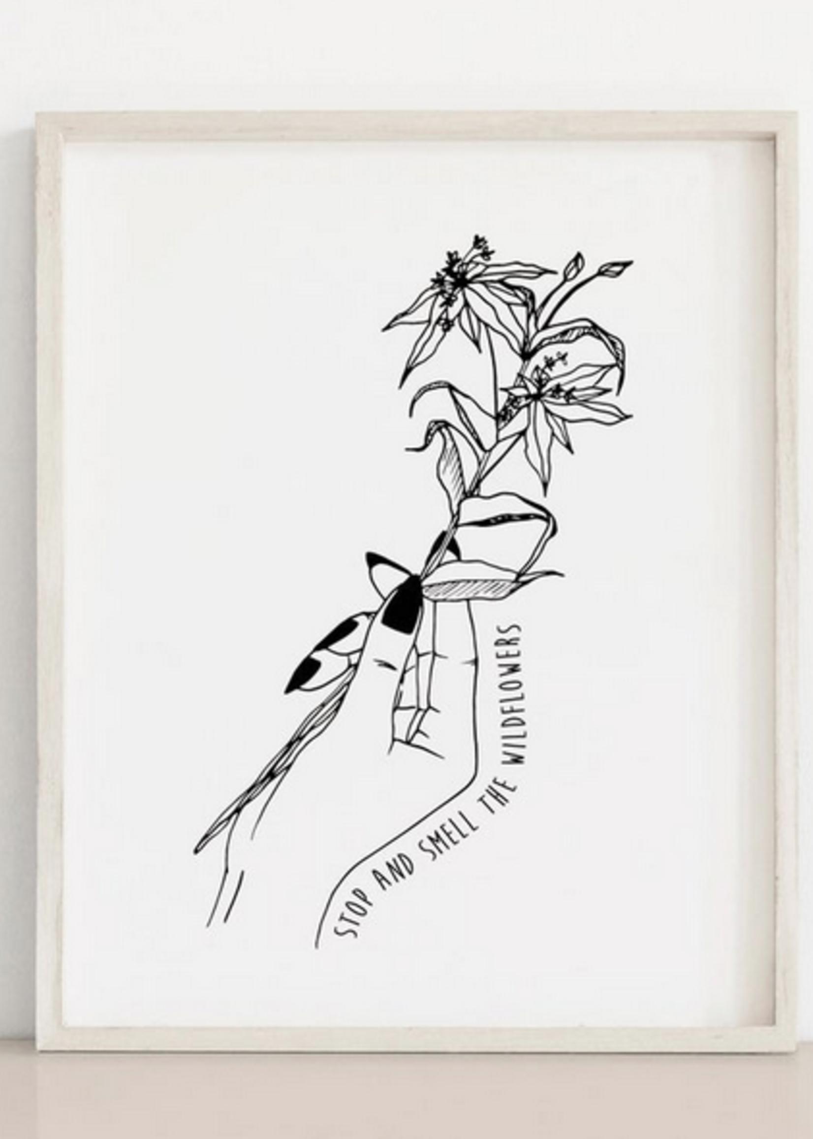 MELINA/KIMBERLEY BC MELINA ART PRINT SMELL THE WILD