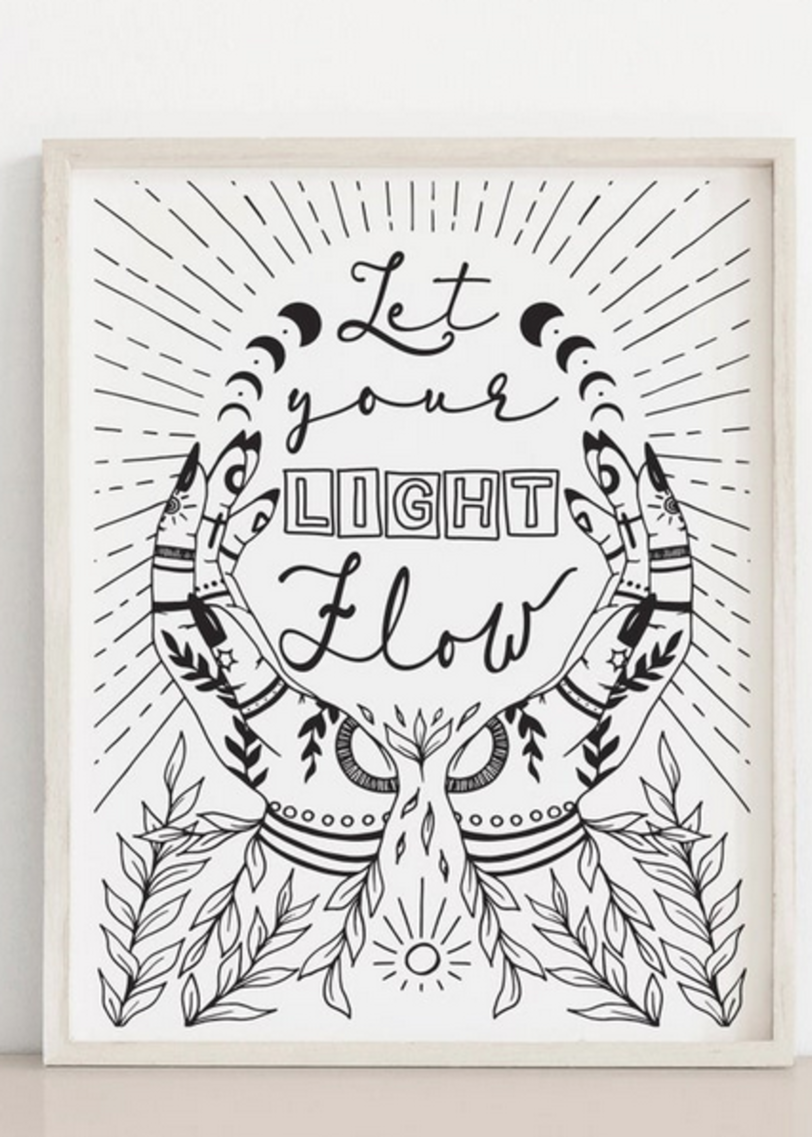MELINA/KIMBERLEY BC MELINA ART PRINT LIGHT FLOW LIGHT