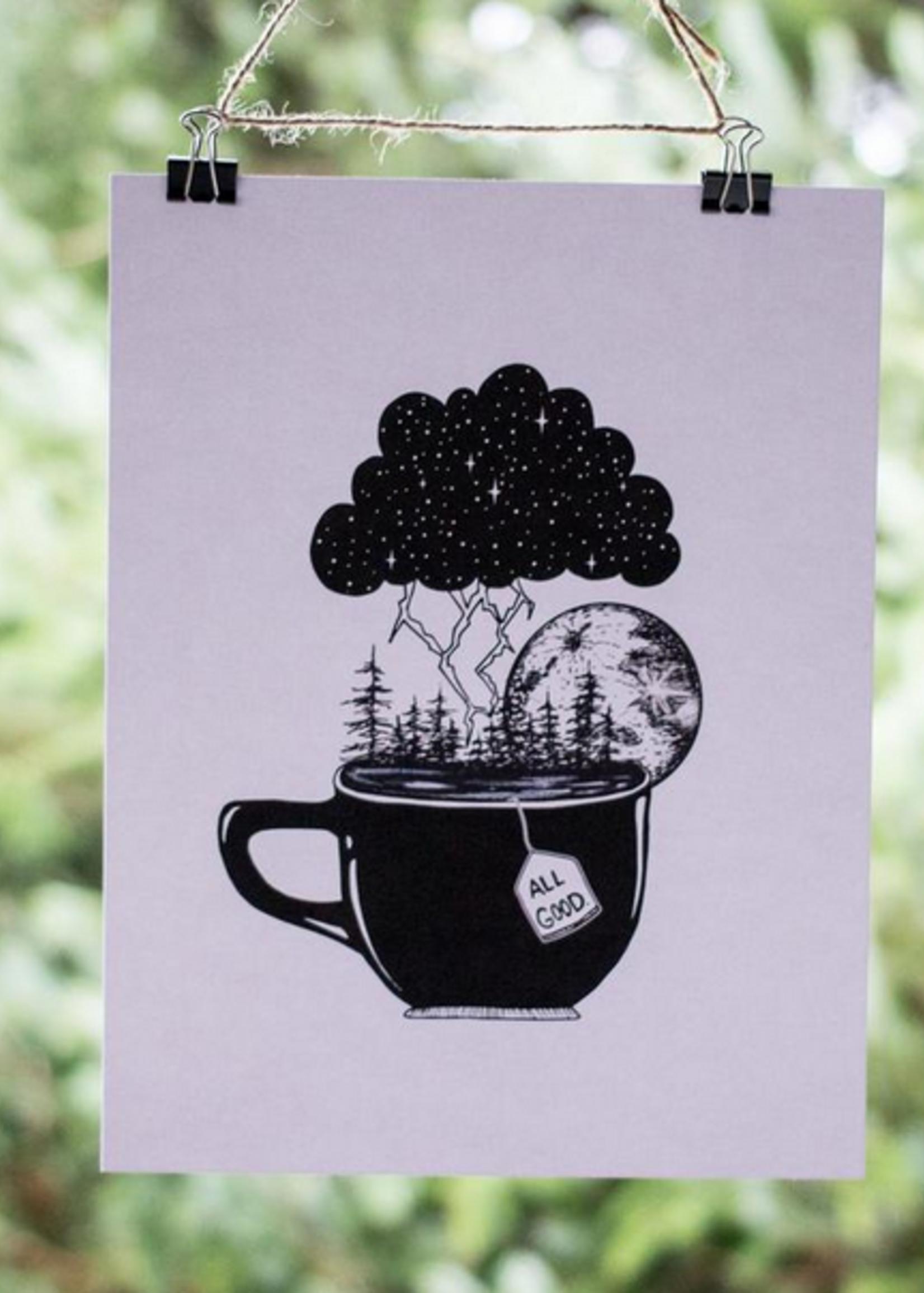 MELINA/KIMBERLEY BC MELINA ART PRINT ALL GOOD TEA