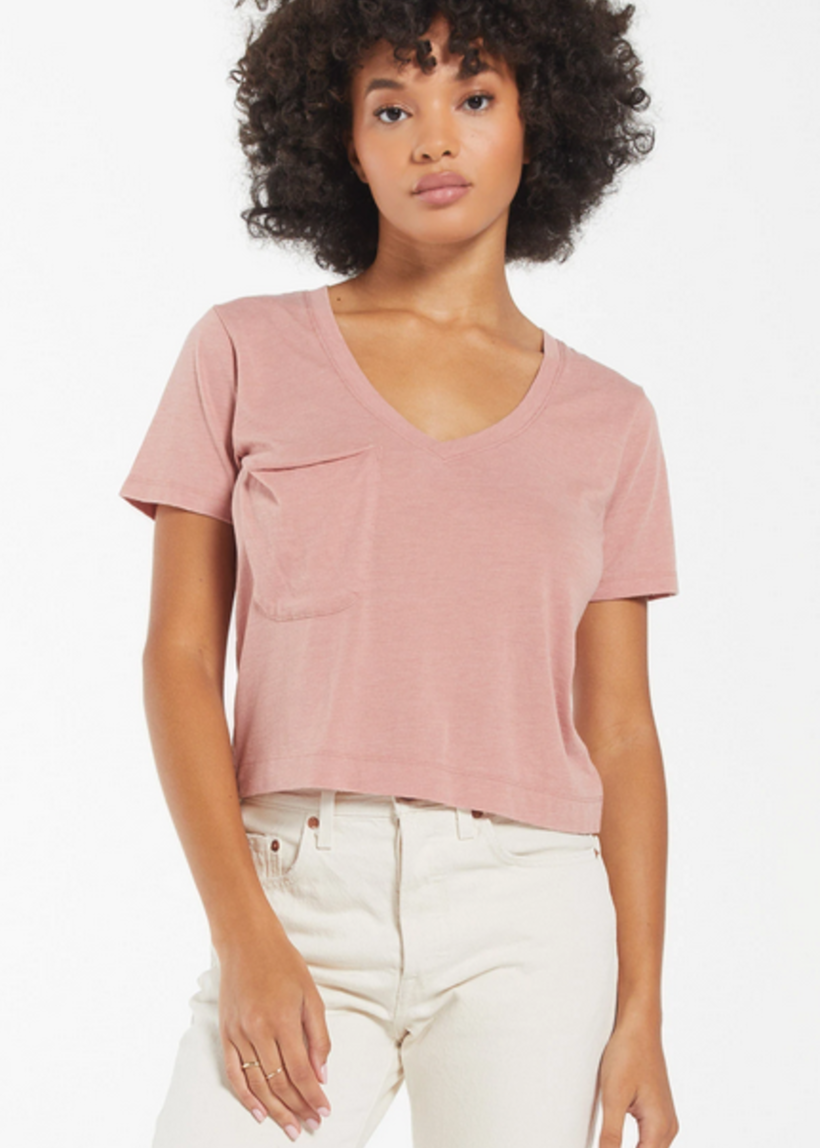 Z SUPPLY Z SUPPLY THE CLASSIC SKIMMER TEE WILD ROSE