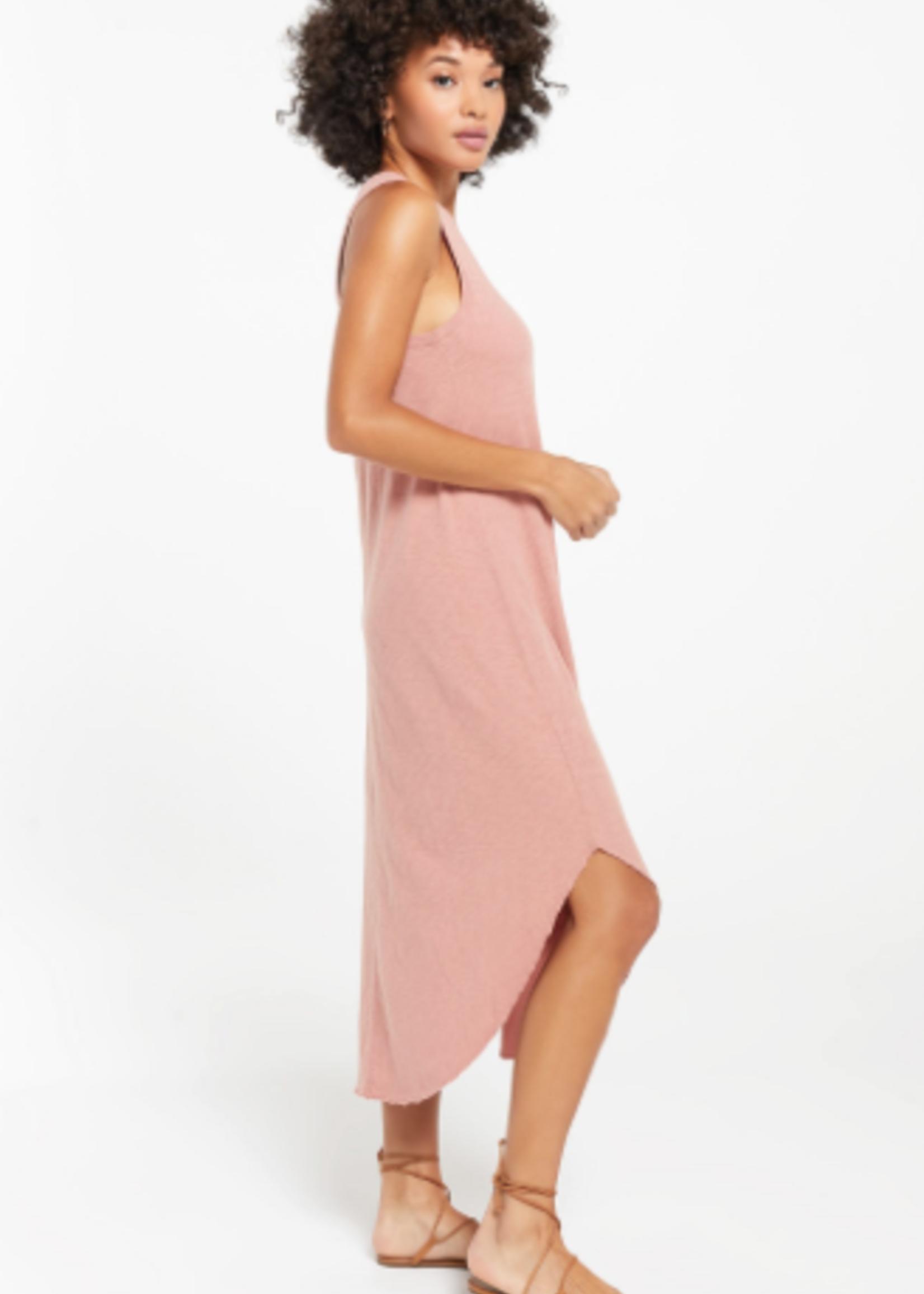 Z SUPPLY Z SUPPLY REVERIE DRESS WILD ROSE
