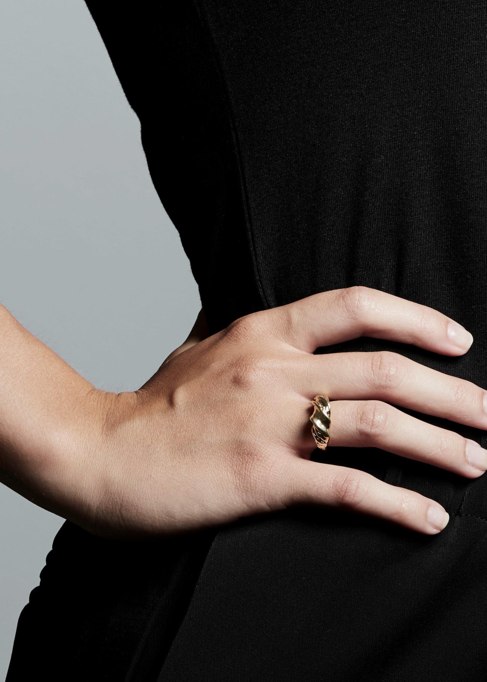 PILGRIM PILGRIM SIMPLICITY GOLD RING