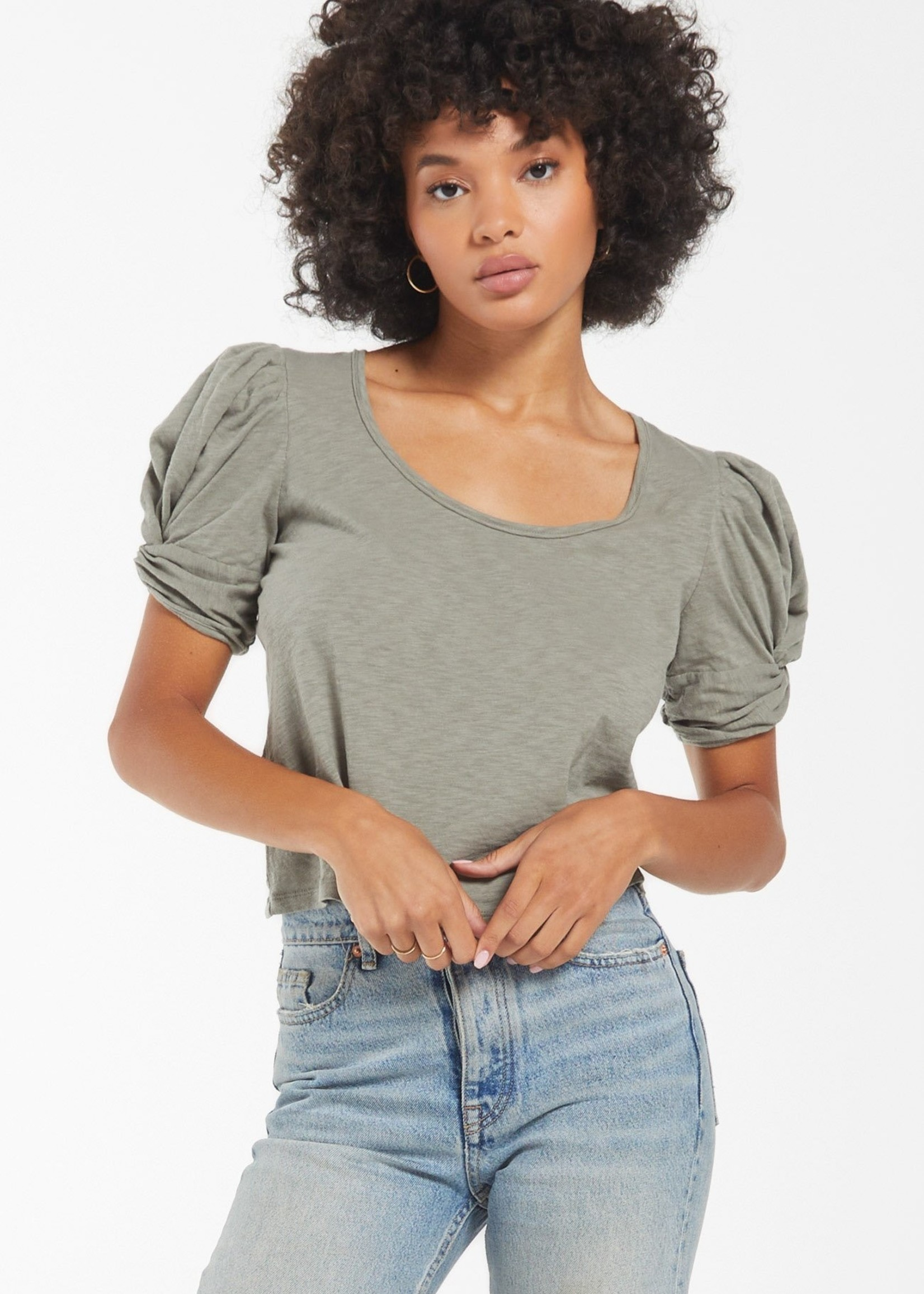 Z SUPPLY Z SUPPLY CARRIE PUFF SLEEVE TEE