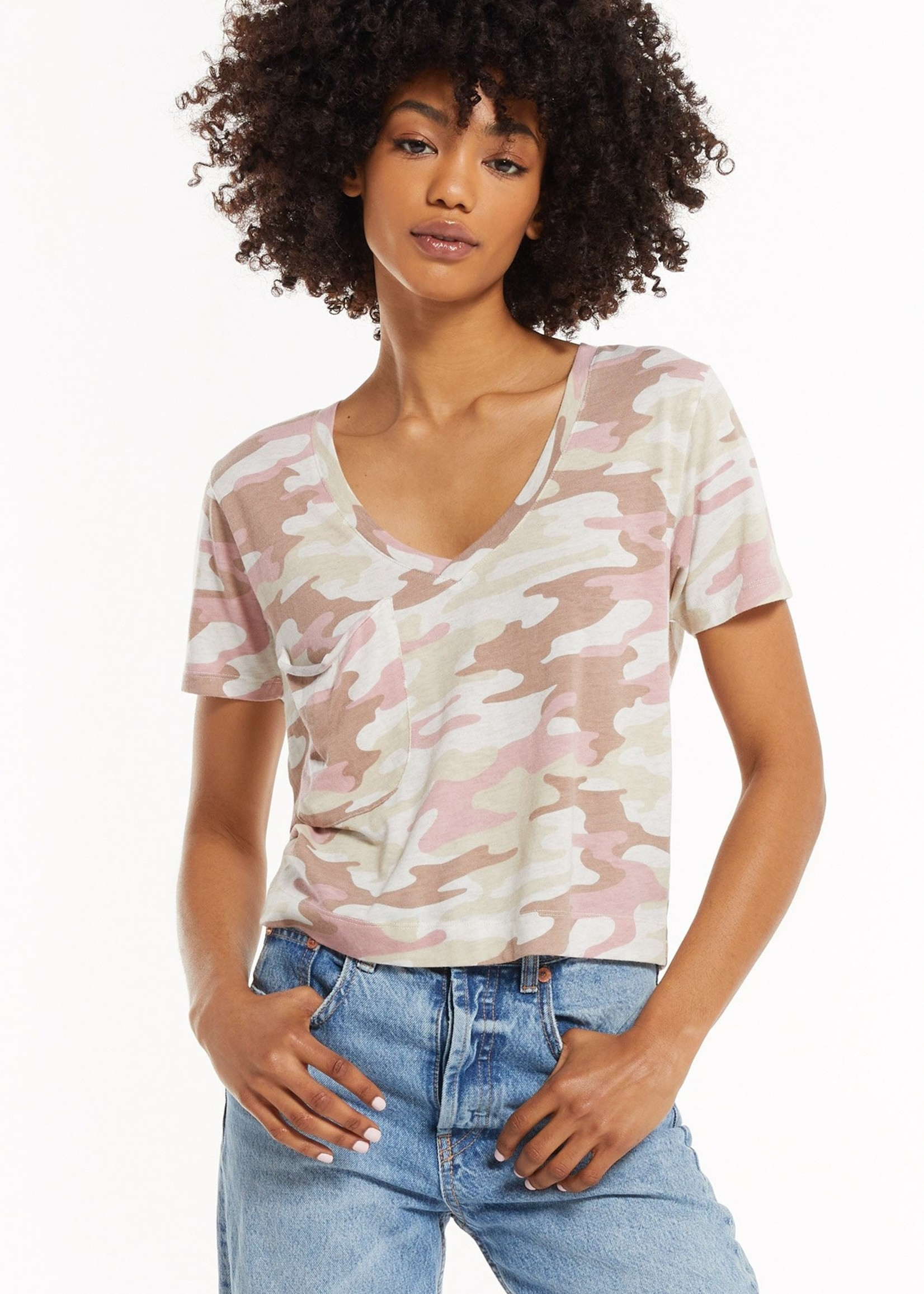 Z SUPPLY Z SUPPLY THE CAMO CLASSIC SKIMMER TEE