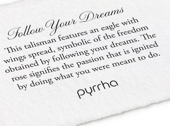 PYRRHA BRONZE FOLLOW YOUR DREAMS