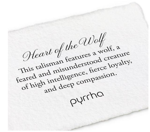 PYRRHA SILVER HEART OF THE WOLF