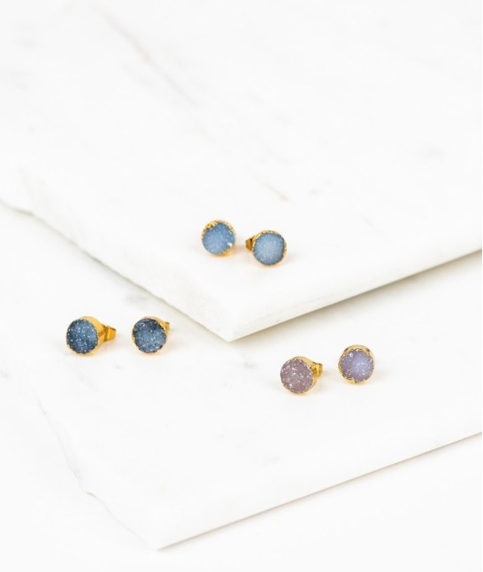 COUTUKITSCH ABRA CIRCLE STUD EARRINGS
