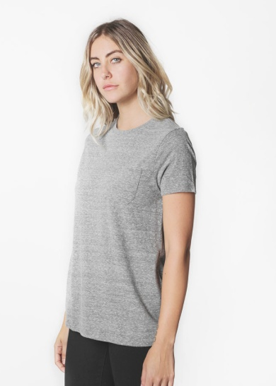 RICHER POORER RICHER POCKET TEE