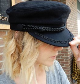 HOUSE OF FREYJA BLACK CAPTAINS HAT
