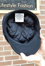 HOUSE OF FREYJA BLACK CAPTAINS HAT