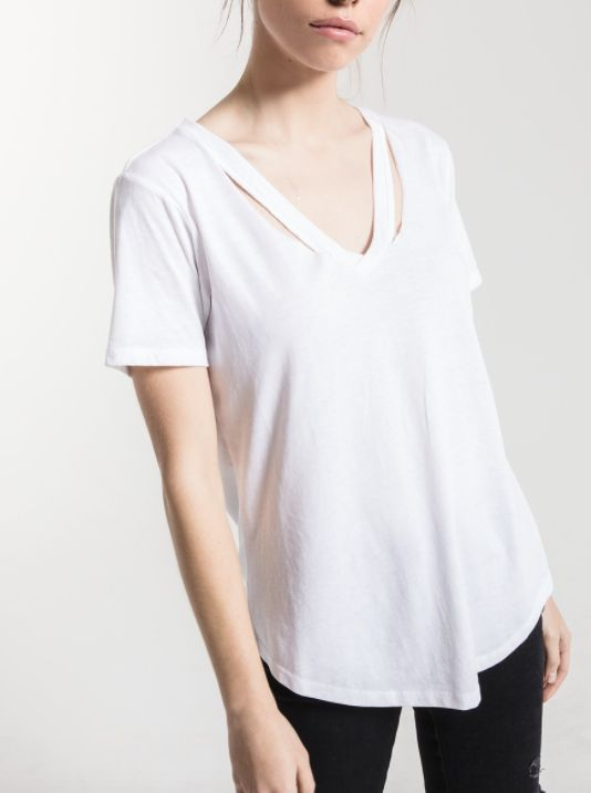 Z SUPPLY Z SUPPLY CUT OUT TEE