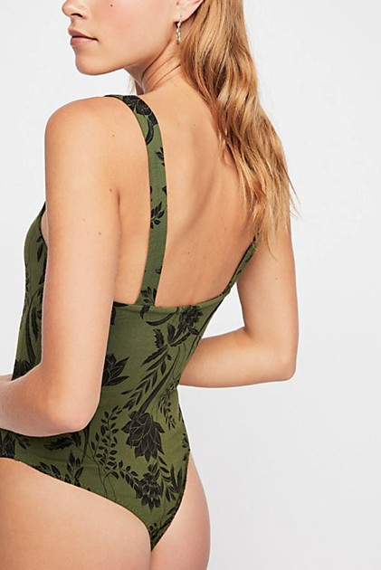 FREE PEOPLE PIPPA V-WIRE BODYSUIT