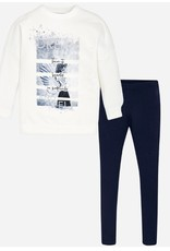 WINGS LEGGING SET NAVY