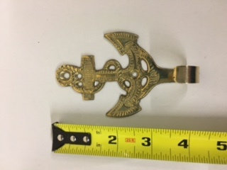 Anchor Key Holder - BRASS