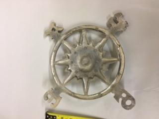 Aluminum Rose Compass