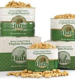 Hubbard Peanut Co. Hubs Salted Peanuts 20oz. Can #1