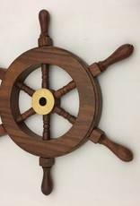 Sheesham Wood Mini Ship Wheel 9""