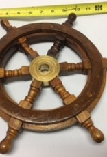 Wooden Ship Wheel 12""