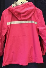 Fenwick Float-ors 5099 Womens New Englander Rain Jacket in Hot Pink Size M
