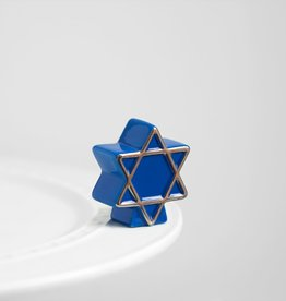 Nora Fleming A122 Star of David (blue star) Minis by Nora Fleming