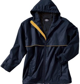 New Englander Rain Jacket Mens True Navy / Yellow 9199 046 L