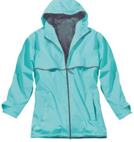 Women's New Englander Rain Jacket Aqua 5099 236 XL
