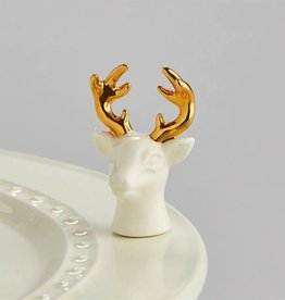 Nora Fleming A208 oh, deer! (stag head) Minis by Nora Fleming