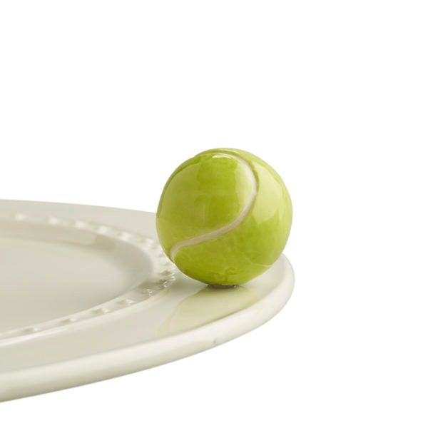 Nora Fleming A72 Game, set, match! (tennis ball) Minis by Nora Fleming