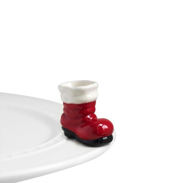 Nora Fleming A89 big guy's boots (santa boot) Minis by Nora Fleming