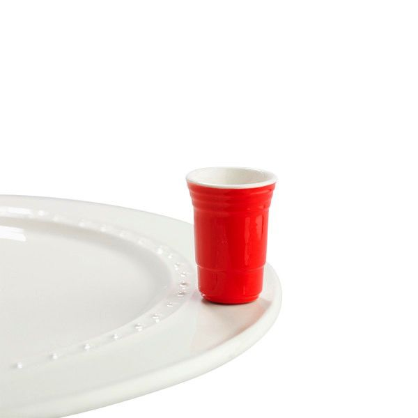 Nora Fleming A144 fill me up (red cup) Minis by Nora Fleming
