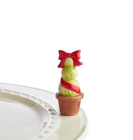 Nora Fleming A158 garden of joy red (topiary red) Minis by Nora Fleming