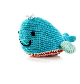 Pebble 200-099WDT Whale Rattle Deep Turquoise