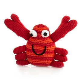 Pebble 200-099CRR CRAB RATTLE RED