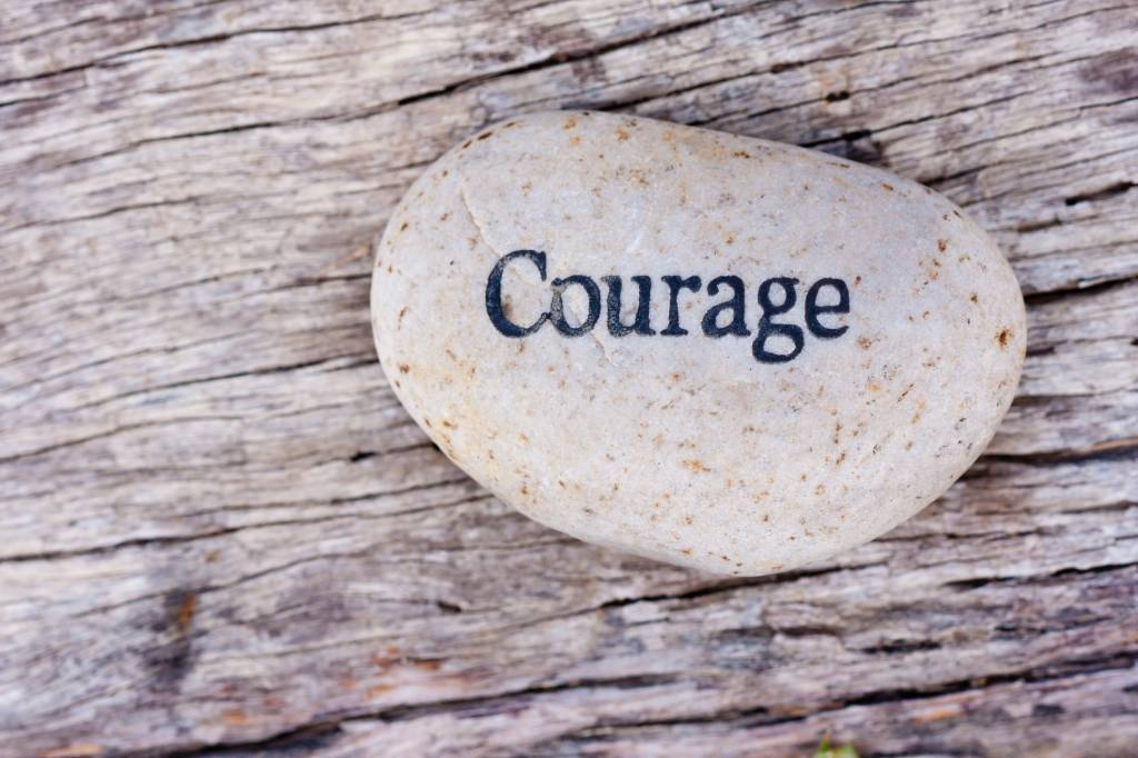 Courage. A key to great sex?