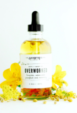 Seagrape Overworked Massage Oil