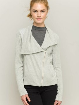 Beth Mix Media Jersey Jacket -