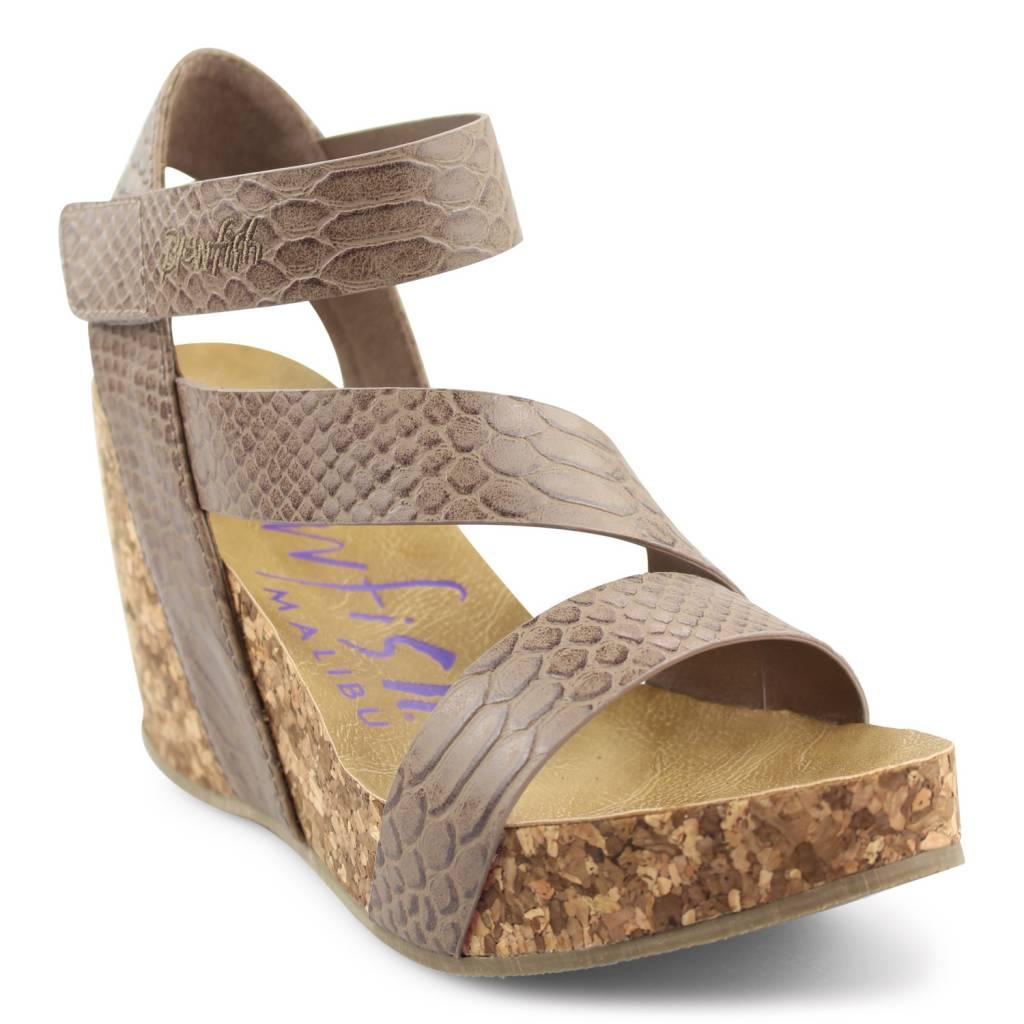 365344c16e Hapuku Faux Leather Wedge - - Magnolia Boutique