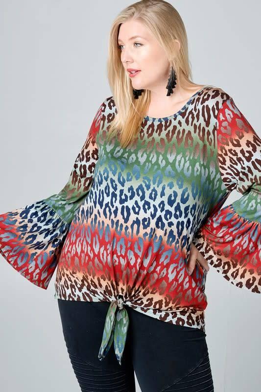 e0e39ff549000 Shop Til You Drop Leopard Print Top - - Magnolia Boutique