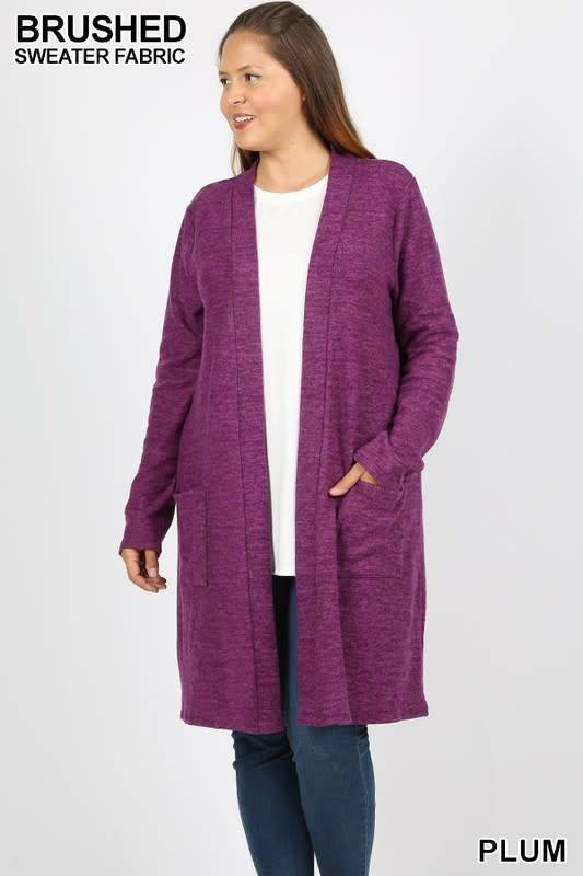 Girl's Lunch Pocket Cardigan -
