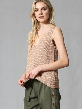 Summer Nights Chevron Top -